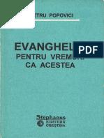 Evanghelia pentru vremuri ca acestea, de Petru Popovici