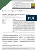Sinorhizobium spp inoculation alleviates the effect of Fusarium oxysporum on Medicago truncatula plants by increasing antioxidant capacity and sucrose accumulation