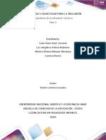 PASO 3 DIAGNÓSTICO DE LA EDUCACIÓN INCLUSIVA_Colaborativo