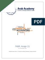 FA&R Assign. 1 Shahinda Kassem