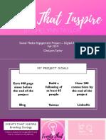 events that inspire presentation pdf