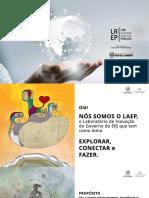 Apresentação Laboratório de Aceleração e Eficiência Pública da Secretaria de Estado da Casa Civil e Governança (LAEP)