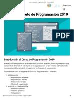 Curso Completo de Programación 2019 - Yoney Gallardo