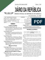 Diario da Repblica 2019