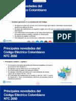 Presentation actualizacion NTC 2050 notas Jesus Zuluaga
