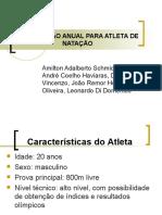 PREPARAÇÃO ANUAL PARA ATLETA DE NATAÇÃO