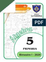 algebra - 5°