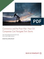 Bain & Company_Coronavirus y La Guerra de Los Precios