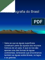 A Hidrografia do Brasil