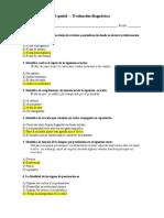 Diagnóstico_Español - respuestas