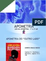 Apometria - Aula 2 - Leis da Apometria - 1ª a 3ª