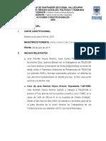 TRABAJO DE ACCIONES CONSTITUCIONALES SENTENCIA 434