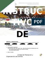 INSTRUCTIVO DE ESCOLTAS Y ANEXO 2019