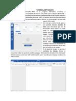 Microsoft office tutotial