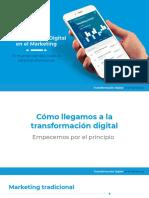 Transformación Digital en el Marketing