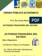 ACTIVIDAD FINANCIERA DEL ESTADO
