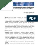 JUSTIÇA RESTAURATIVA INSTRUMENTO ALTERNATIVO PARA SOLUÇÃO DE
