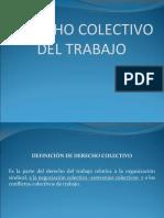 DEFINICIÓN, CONTENIDO Y PRINCIPIOS DEL DERECHO COLECTIVO