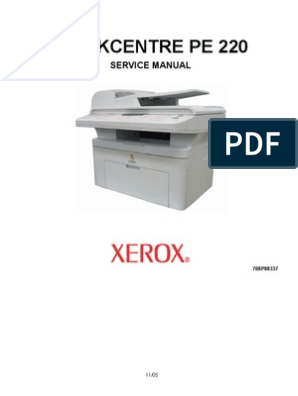 Xerox Pe220 Samsung Scx4521f Service Manual Electrostatic