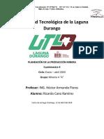 Proyecto Minero La Trinidad (Costos)