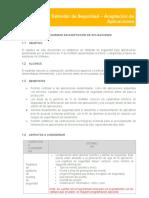 Estándar de Seguridad de la Información - Aceptación de Aplicaciones SUM Argos