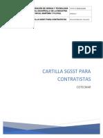 Cartilla Sgsst Para Contratistas Modificada0