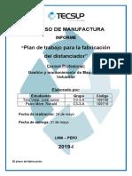Plan  de trabajo - Toro-Paico