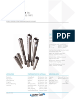Allpumps Southern Cross 4 Inch Technical Data Sheet Brochure