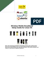 Sprint Mobile Broadband Setup Guide for Linux 1.4.1