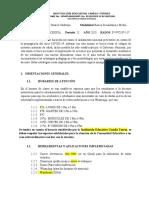 ORIENTACIONES GENERALES PARA EL TRABAJO VIRTUAL