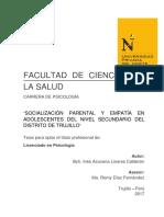 tesis socialización parental 1
