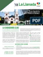 Periódico GANA La Llanada