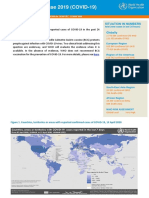 WHO COVID-19 situation report for April 13, 2020