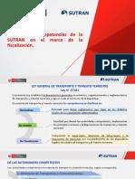 PPT N° 01 - FUNCIONES Y COMPETENCIAS DE LA SUTRAN EN EL MARCO DE LA FISCALIZACIÓN.pptx
