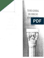 TEORIA GENERAL DEL DERECHO ADMINISTRATIVO HUGO CALDERÓN capitulo 1