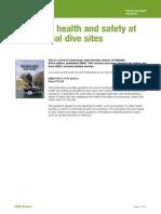 (HSG 240) Gestión de la salud y la seguridad en los sitios de buceo recreativo