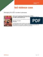 (HSG 229) Violencia relacionada con el trabajo