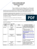 ACTIVIDADES GRADO CUARTO  14-17de Abril