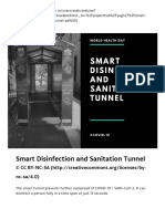Smart Disinfection and Sanitation Tunnel - Arduino Project Hub