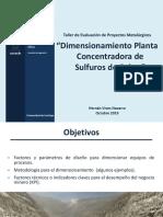 5. Dimesionamiento Planta Concentradora (2).pdf