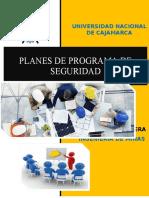 Planes de Programa de Seguridad