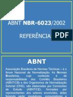 NBR 6023 Referências (1)