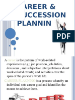 career and succession plan