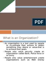 Organisation Structure & Design