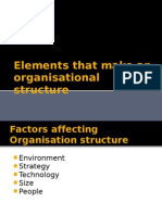 Foundation of Organisation Structure