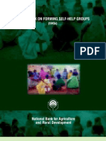 Nabard Booklet on Shgs