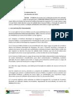 Edital de Abertura n 001 2019-ARAGUAINA