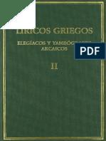 Rodríguez Adrados, Fco. - Líricos griegos, elegíacos y yambógrafos arcaicos (siglos VII-V a.C.) vol. II.pdf