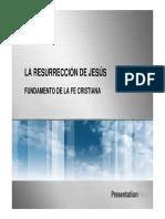 20121020 Cristologia La Resurreccion de Jesus