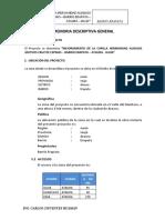 01 Memoria Descriptiva General